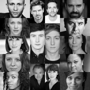 Curious Incident of the dog in the night-time 2017 tour cast
