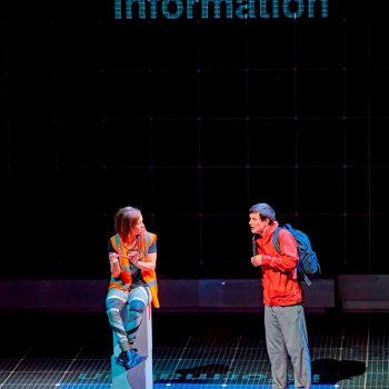 Crystal Condie (Information) & Scott Reid (Christopher Boone)