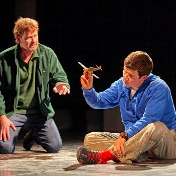 David Michaels (Ed) & Scott Reid (Christopher Boone)