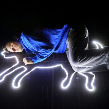 Joshua Jenkins (Christopher Boone) – Curious Incident International Tour. Photo by BrinkhoffMögenburg