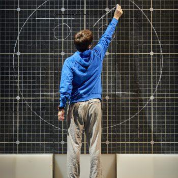 Joshua Jenkins (Christopher Boone) Curious Incident International Tour. Photo by BrinkhoffMögenburg