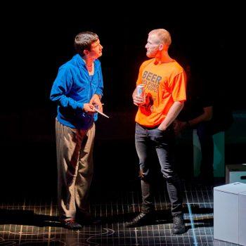 Scott Reid (Christopher Boone) & Joel Harper-Jackson