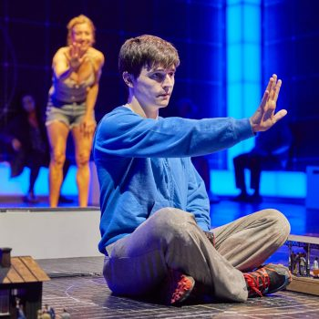 Joshua Jenkins (Christopher Boone) & Emma Beattie (Judy) The Curious Incident of the Dog in the Night-Time
