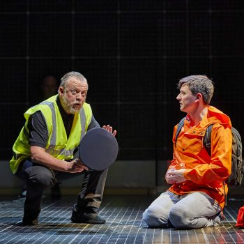 Sean McKenzie and Joshua Jenkins (Christopher) in The Curious Incident of the Dog in the Night-Time  – Photo Brinkhoff/Mögenburg